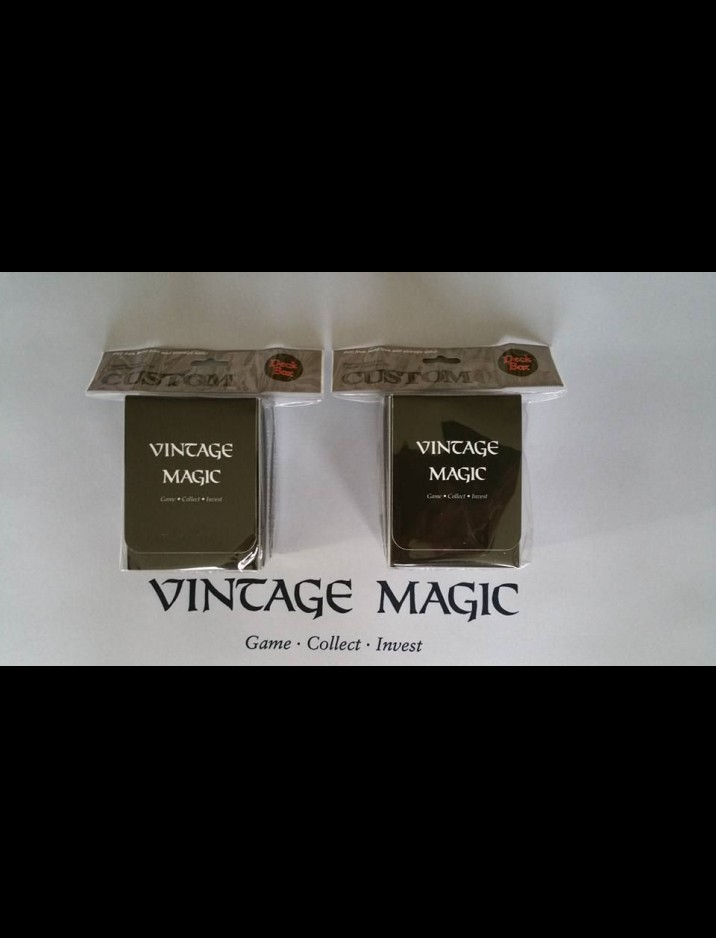 2 x Vintage Magic Deck Boxes Bundle