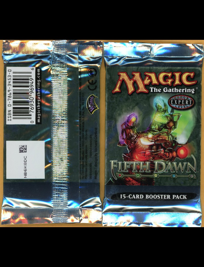 English Fifth (5th) Dawn Booster Pack