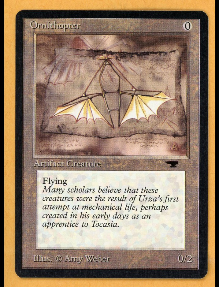Antiquities Ornithopter
