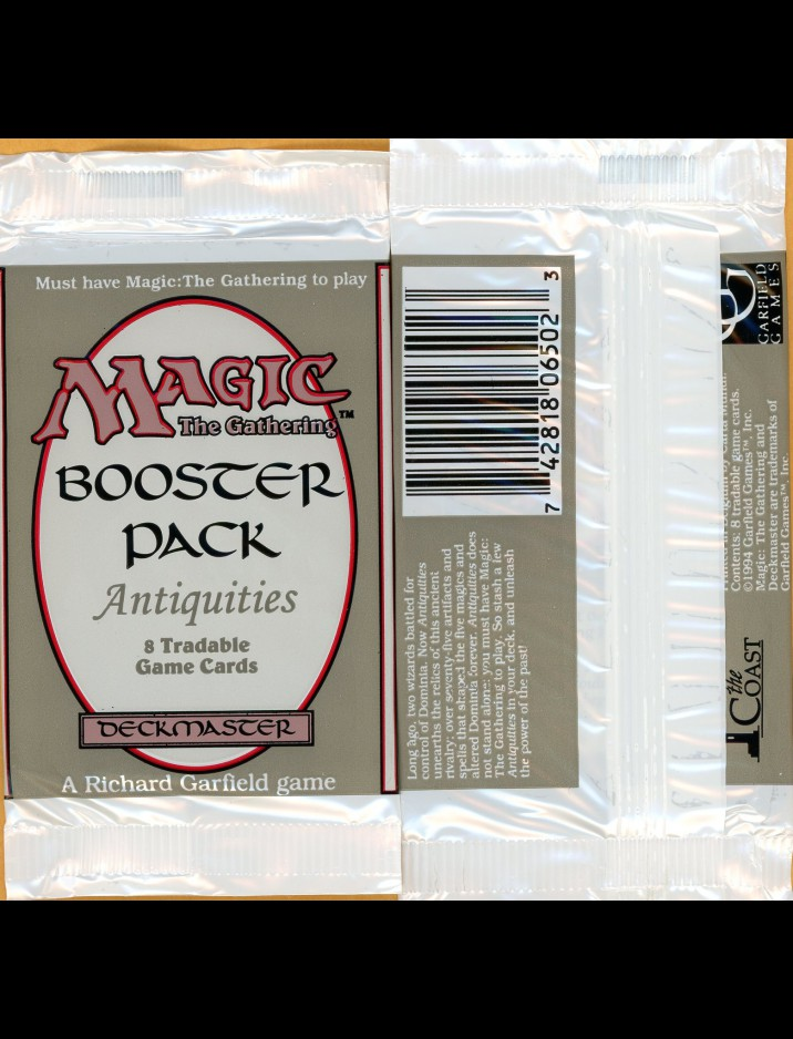 Factory Sealed Mtg Antiquities Booster Pack