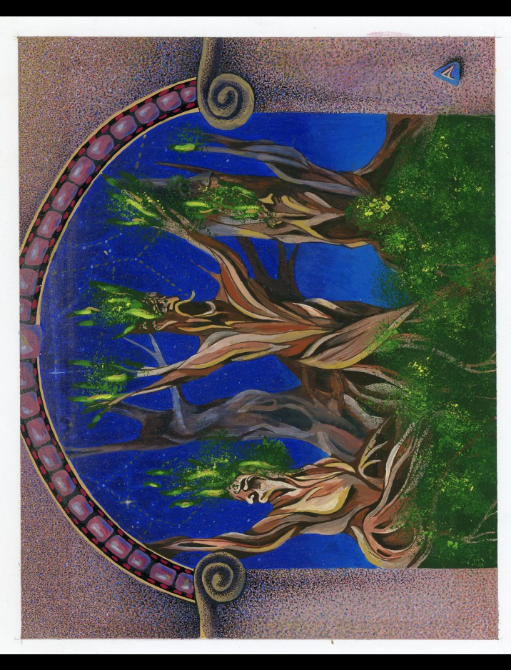 "Antiquities ""Argothian Treefolk"" Original Artwork by Amy Weber"