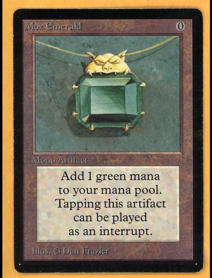 Beta Mox Emerald