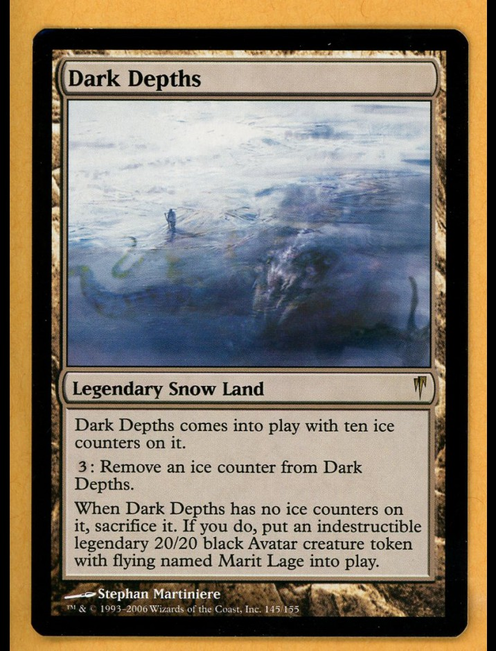 Coldsnap Dark Depths