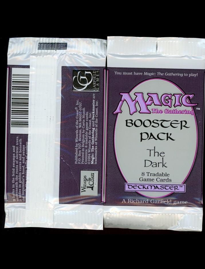 English The Dark Booster Pack