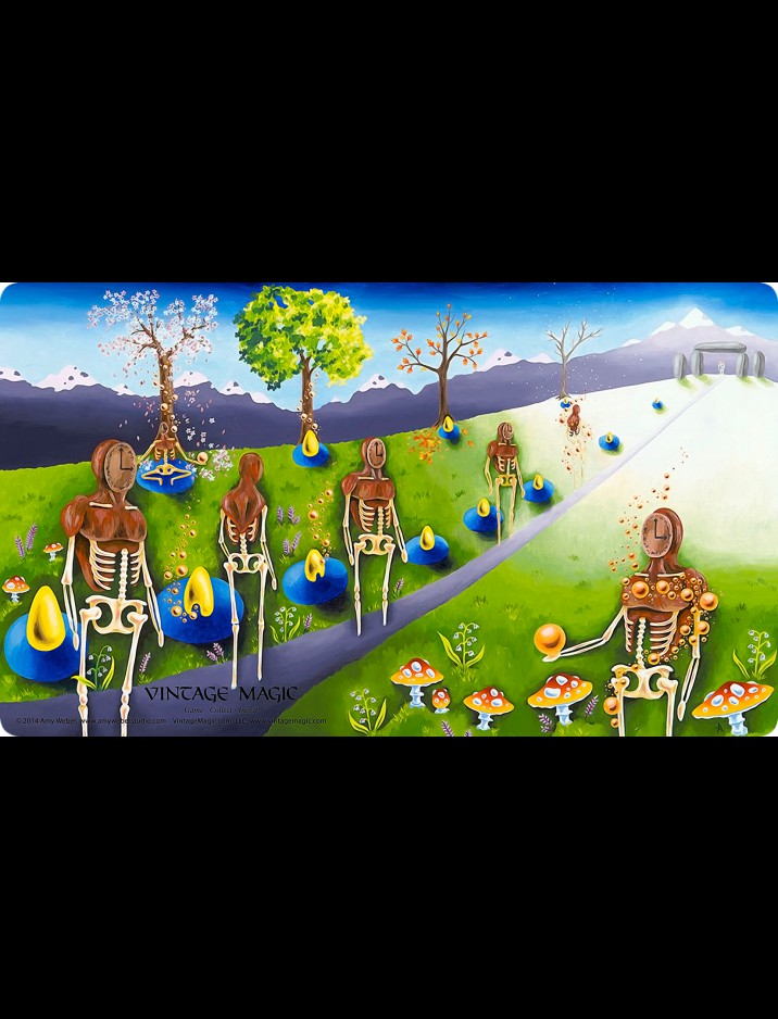 """""""Collector"""" Time Walk (2013) Playmat by Amy Weber"""