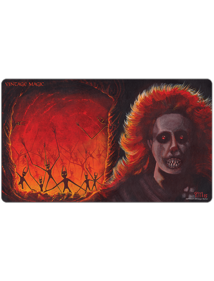 The Fallen & Demonic Hordes (2015) Playmat by Jesper Myrfors