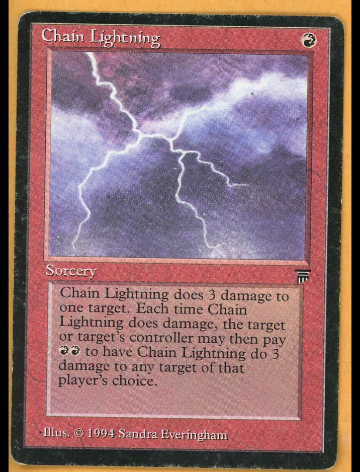 Legends Chain Lightning