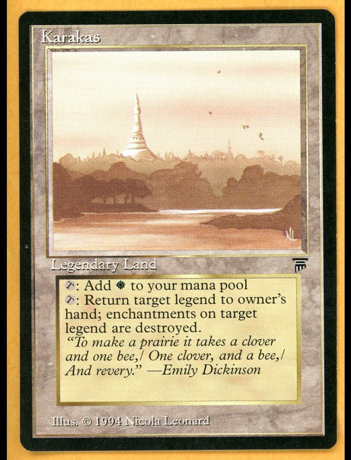 Legends Karakas