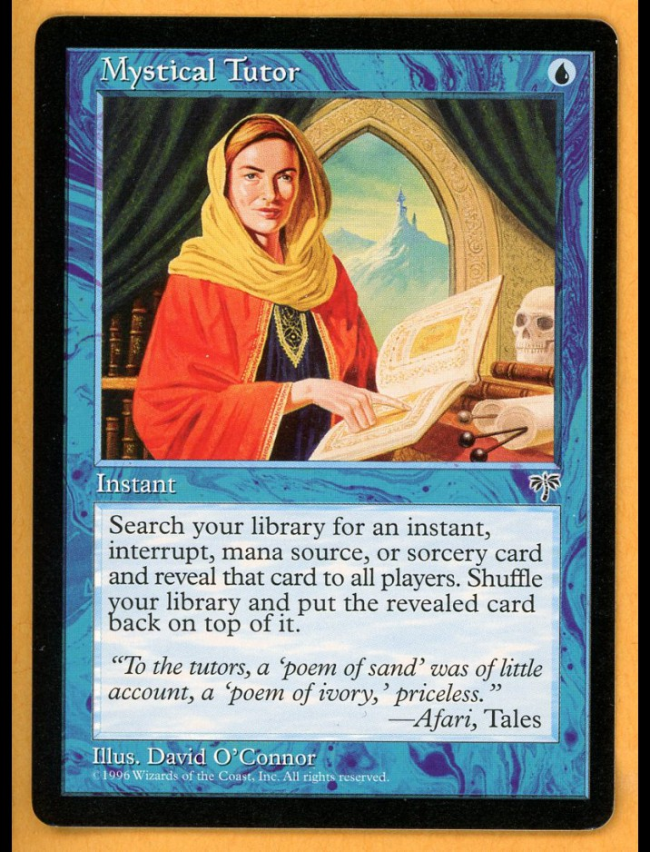 Mirage Mystical Tutor