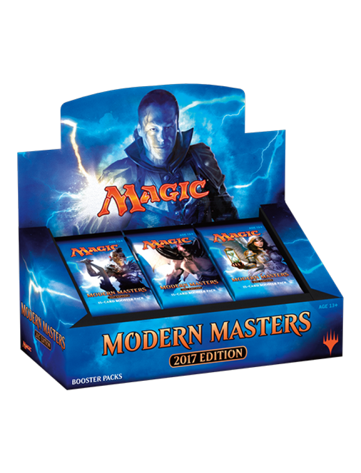 {NON-PAYPAL Payment ONLY} 1 x Factory Sealed English Modern Masters 2017 {MM2017} Booster Box