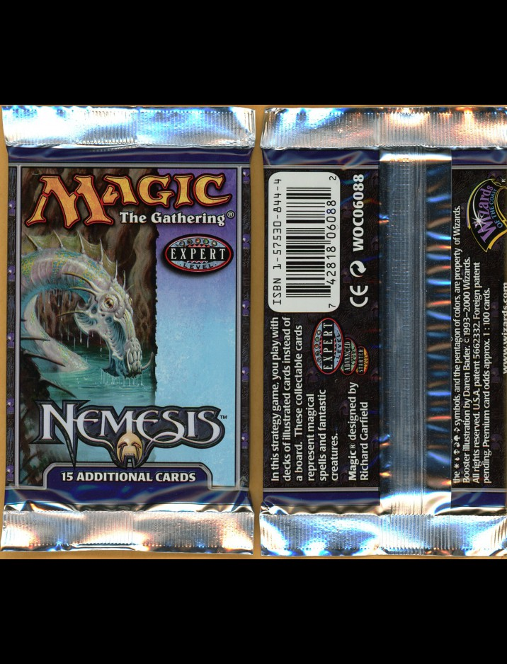 English Nemesis Booster Pack