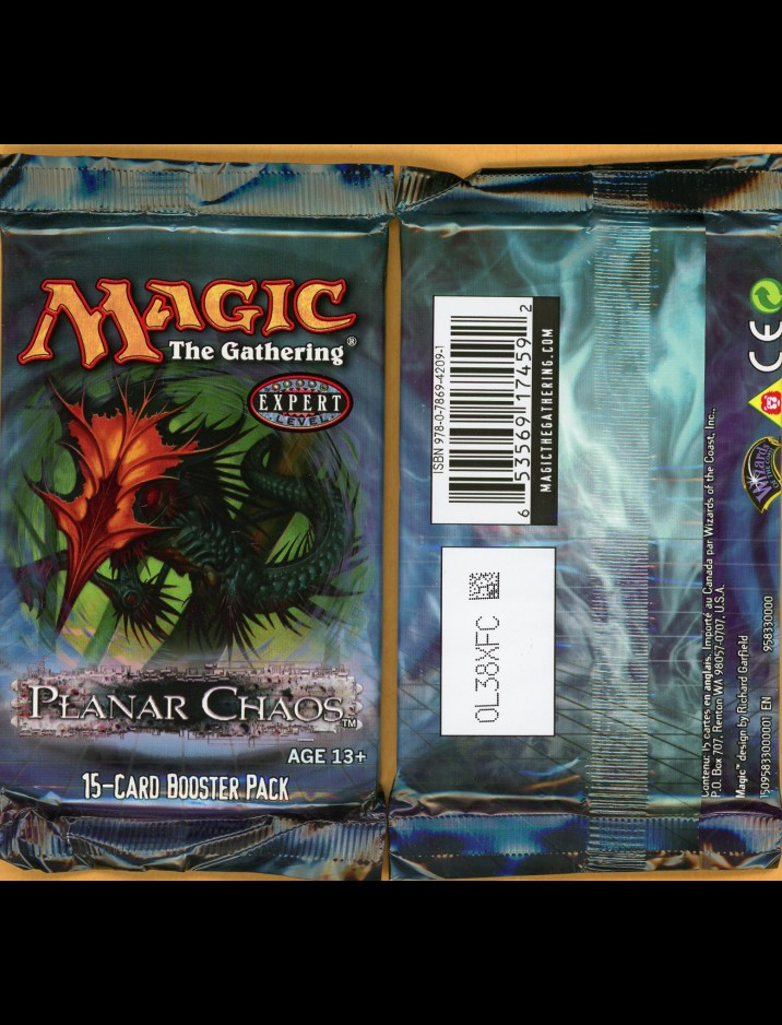 English Planar Chaos Booster Pack