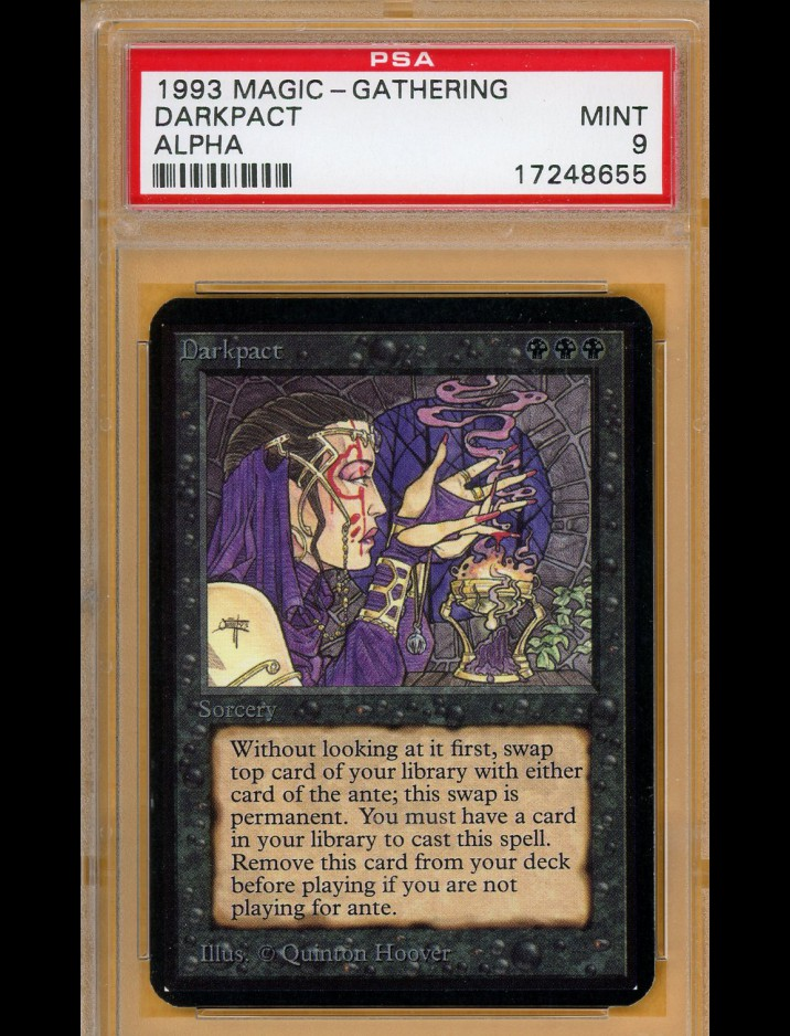PSA 9 Alpha Darkpact