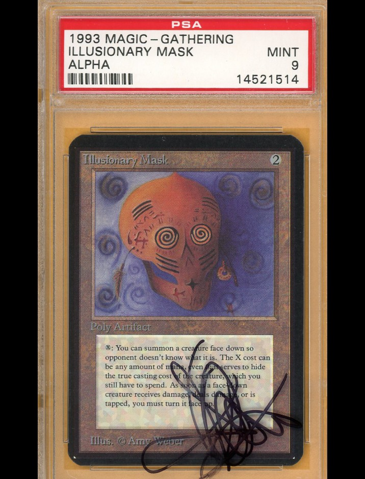 PSA 9 Alpha Illusionary Mask