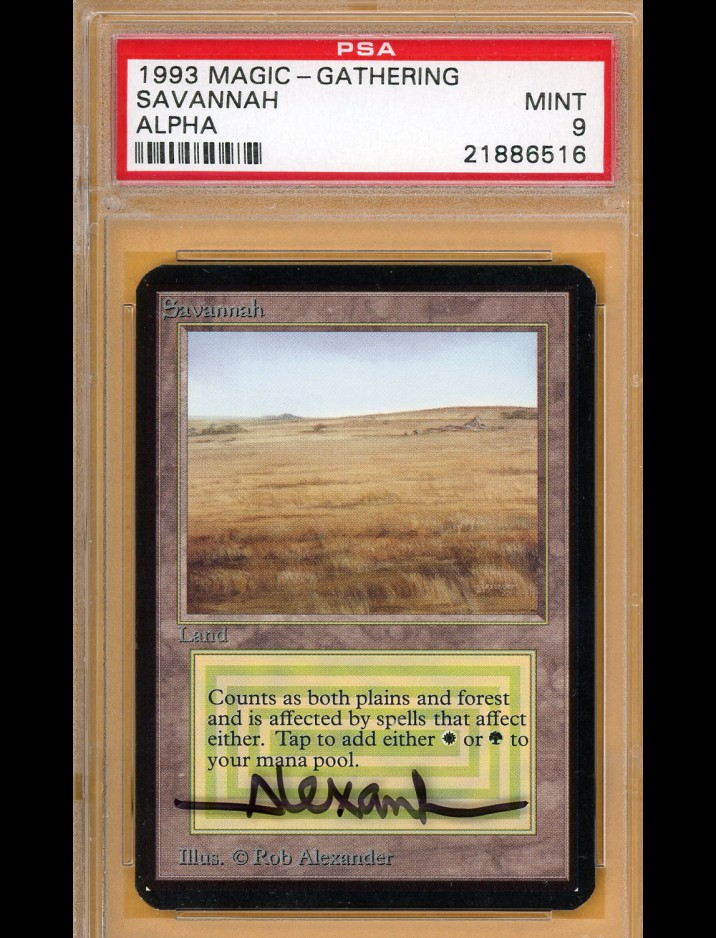 PSA 9 Alpha Savannah
