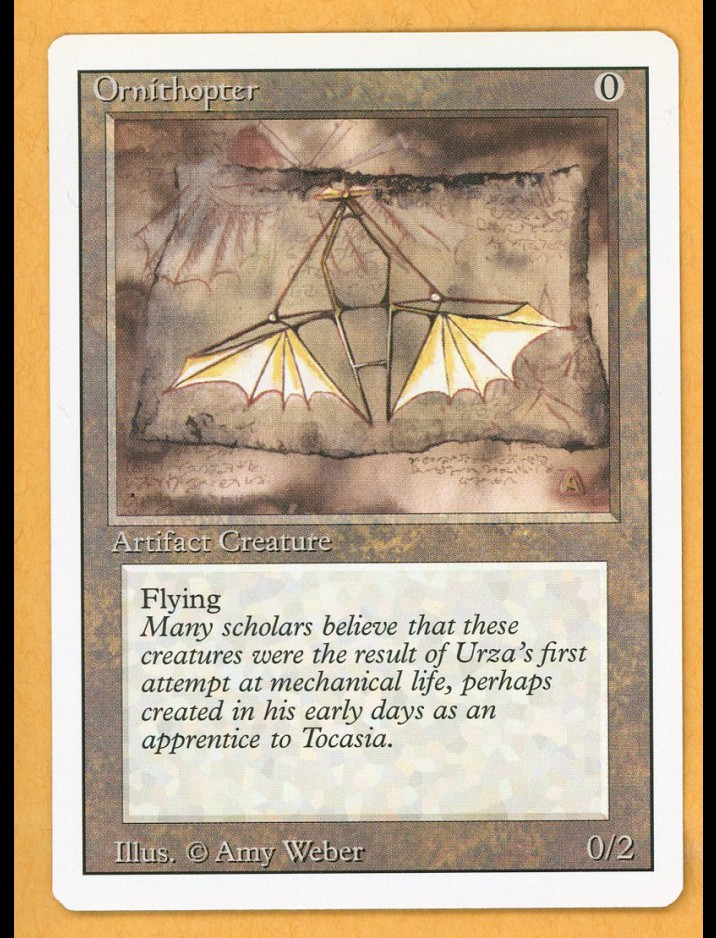 3rd Edition/Revised Ornithopter | Mint Condition