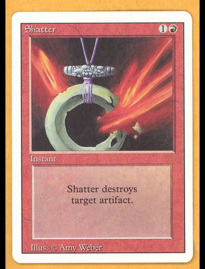 3rd Edition/Revised Shatter