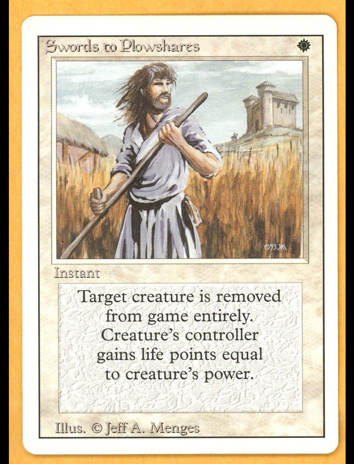 3rd Edition/Revised Swords of Plowshares