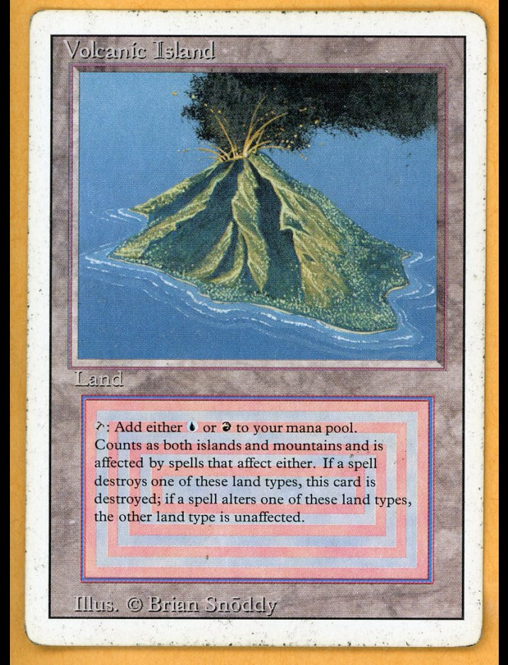 3rd Edition/Revised Volcanic Island
