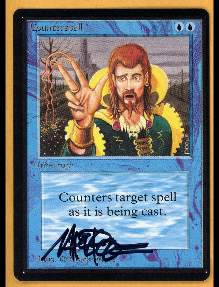 Signed Beta Counterspell