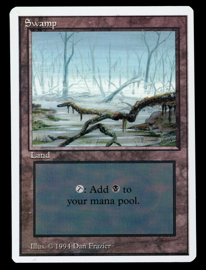 Summer Magic Swamp {One Branch}