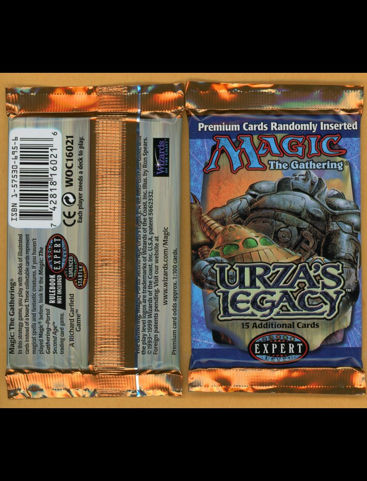 English Urza's Legacy Booster Pack