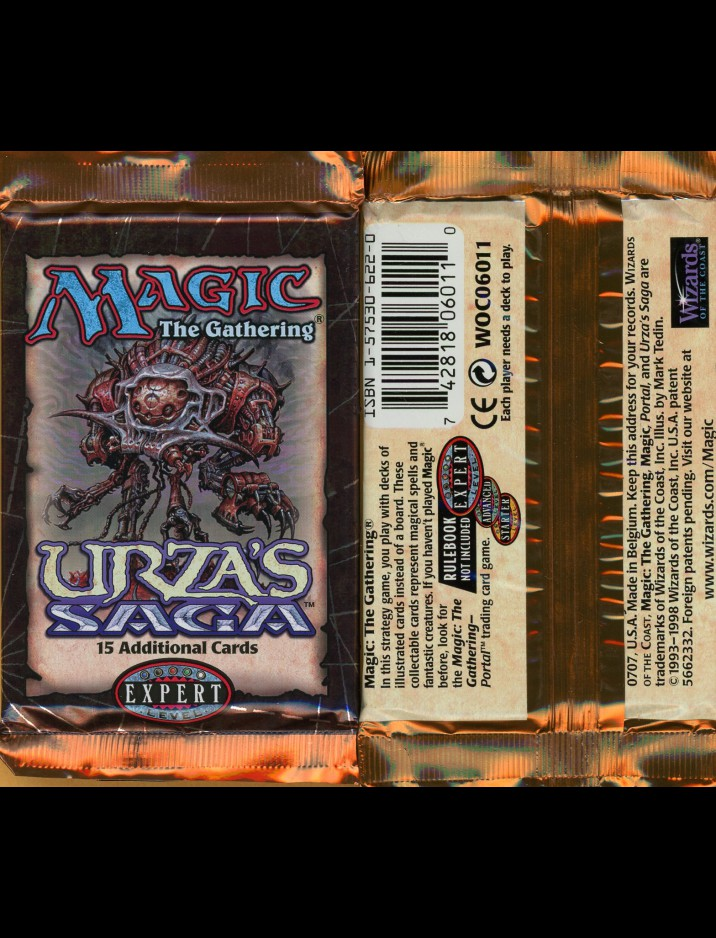 English Urza's Saga Booster Pack