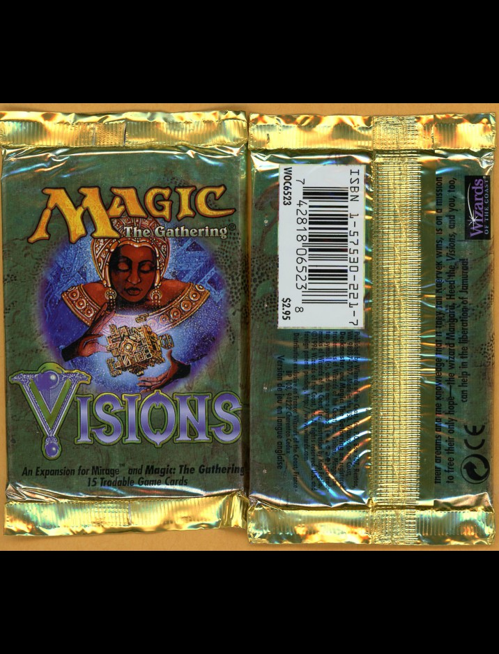 English Visions Booster Pack