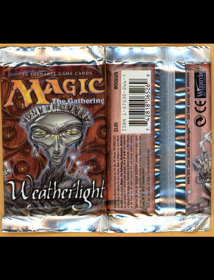 English Weatherlight Booster Pack