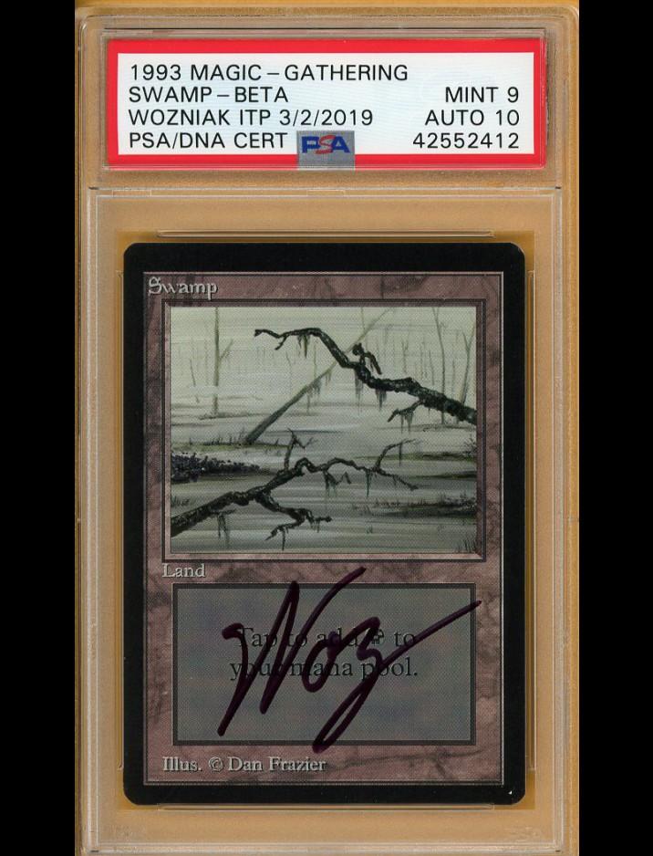 "SIGNED by Steve ""WOZ"" Wozniak 