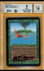 BGS/JSA 9/10 Alpha Birds of Paradise