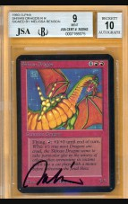 BGS/JSA 9/10 Alpha Shivan Dragon