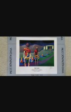"""1st Limited Edition """"Time Walk"""" Giclee hand-numbered & signed {out of 50} by Amy Weber"""