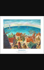 """Limited Edition """"Rishadan Port"""" Giclee hand-numbered & signed {out of 250} by Jerry Tiritilli"""