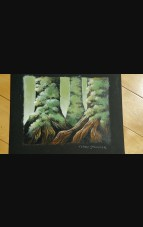 """Forest"" Original Artwork by Terry Springer 