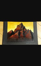 """Mountain"" Original Artwork by Terry Springer 