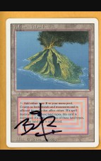 Signed 3rd Edition/Revised Volcanic Island