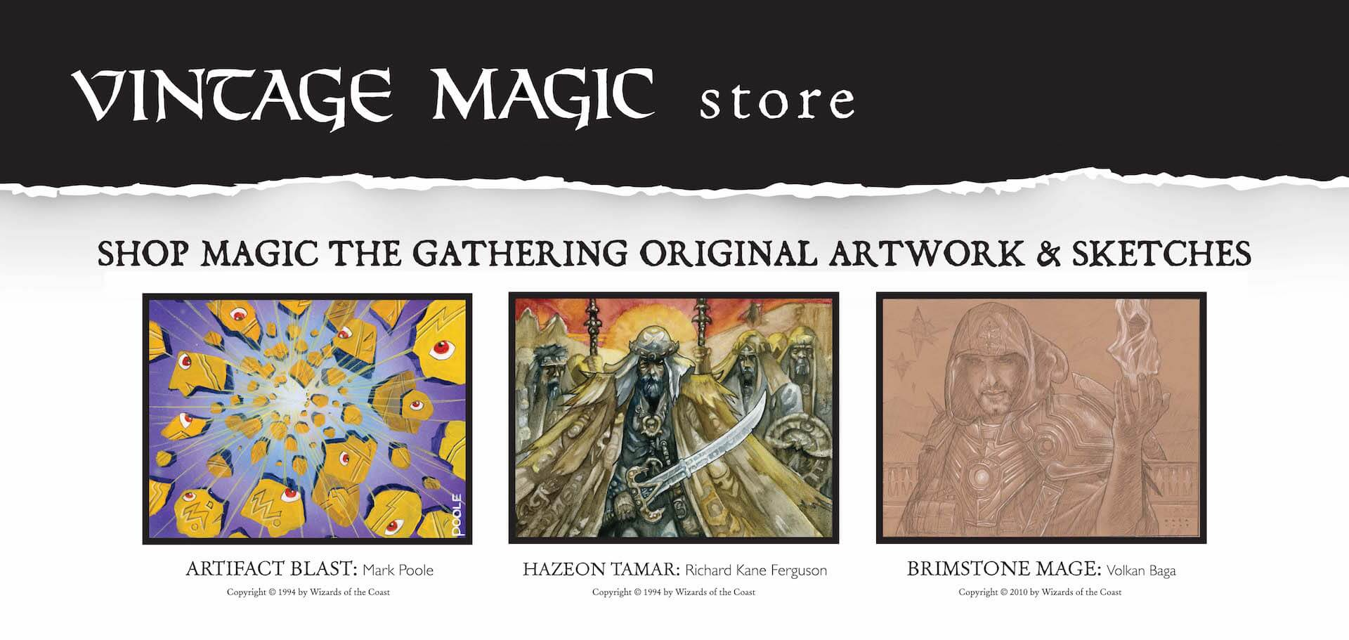 Art & Sketches for sale on Vintage Magic Store