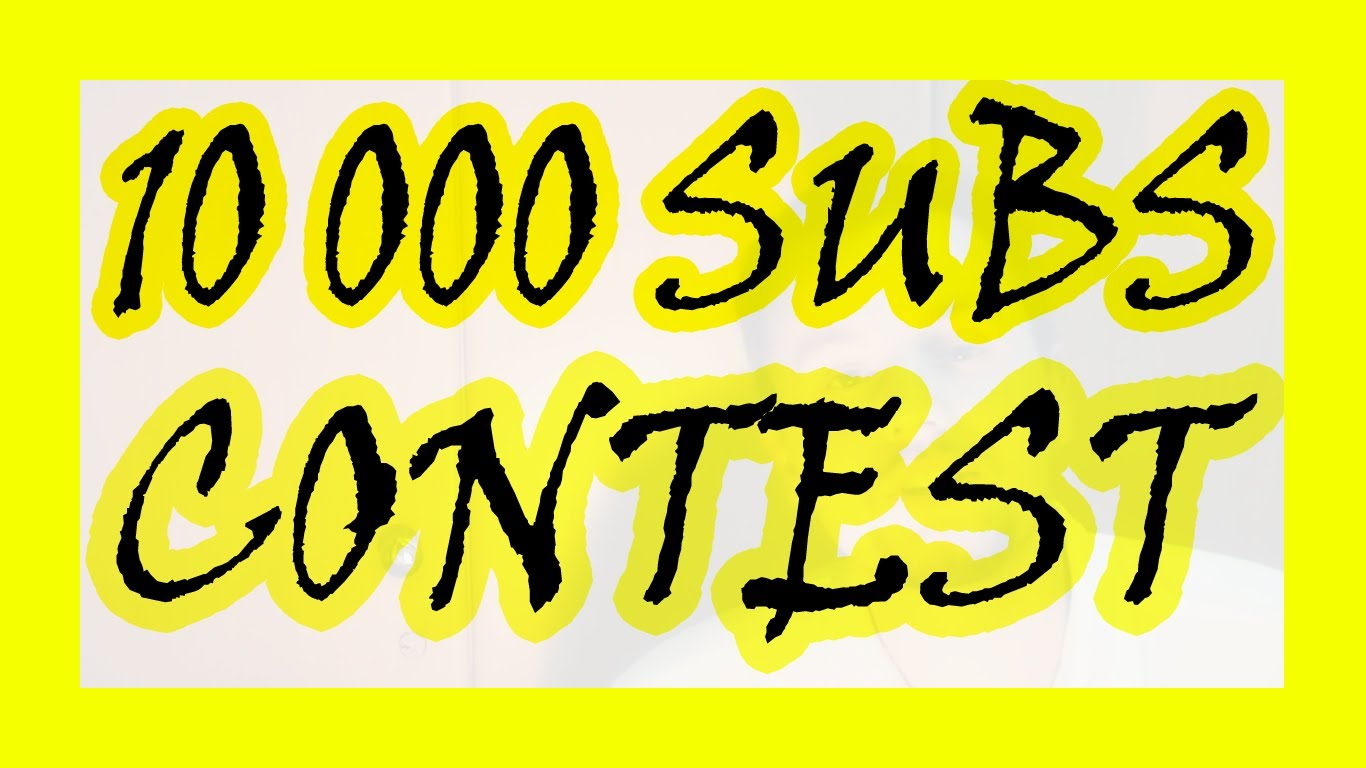 10k YouTube SUB Essay Contest