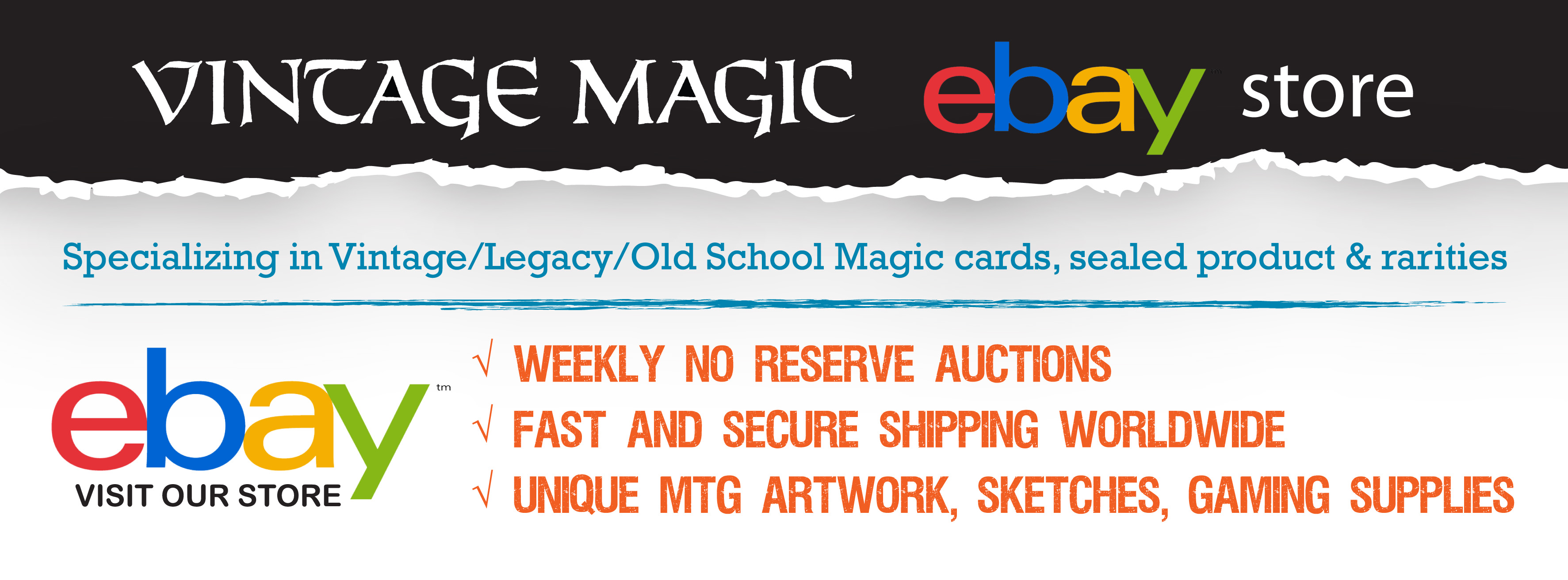 Vintage Magic eBay Store