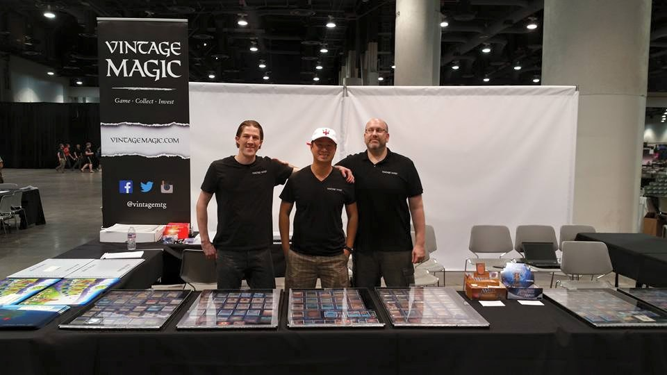 Team Vintage Magic @ #GPVegas 2015